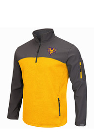 West Chester Golden Rams Colosseum Plow IV 1/4 Zip Pullover - Yellow