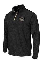 Colosseum Emporia State Mens Black Action Pass 1/4 Zip Performance Pullover