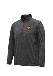 Colosseum Cyclones Mens Black Action Pass 1/4 Zip Performance Pullover
