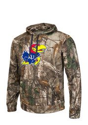 Colosseum KU Jayhawks Mens Breech Performance Hood