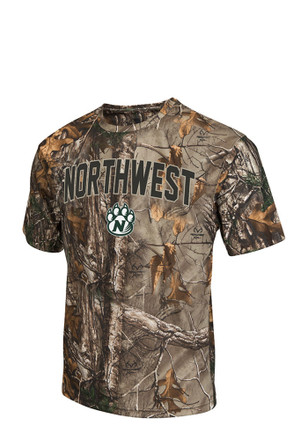 Colosseum Northwest Mo State Bearcats Mens Green Brow Tine Tee
