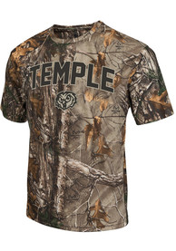Colosseum Temple Owls Green Brow Tine Tee