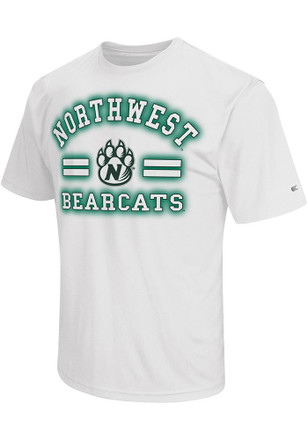 Colosseum Northwest Missouri State Bearcats Mens Black Big Haze T-Shirt