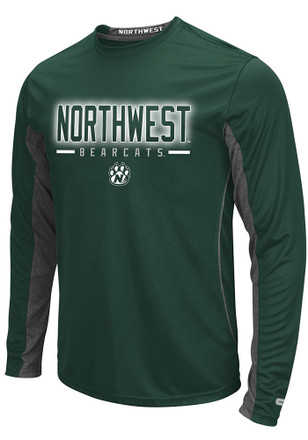 Northwest Mo State Bearcats Mens Green Iceman Tee