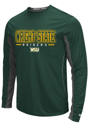 Colosseum Wright State Raiders Mens Green Iceman Tee