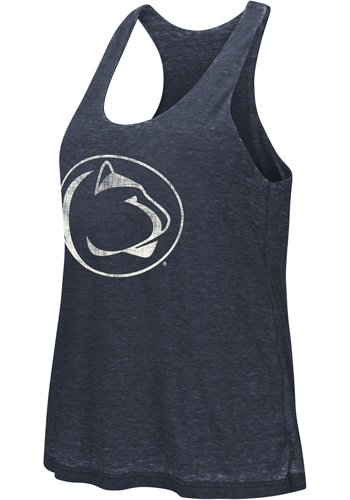 Colosseum Penn State Nittany Lions Juniors Navy Blue Ross Tank Top - Image 2