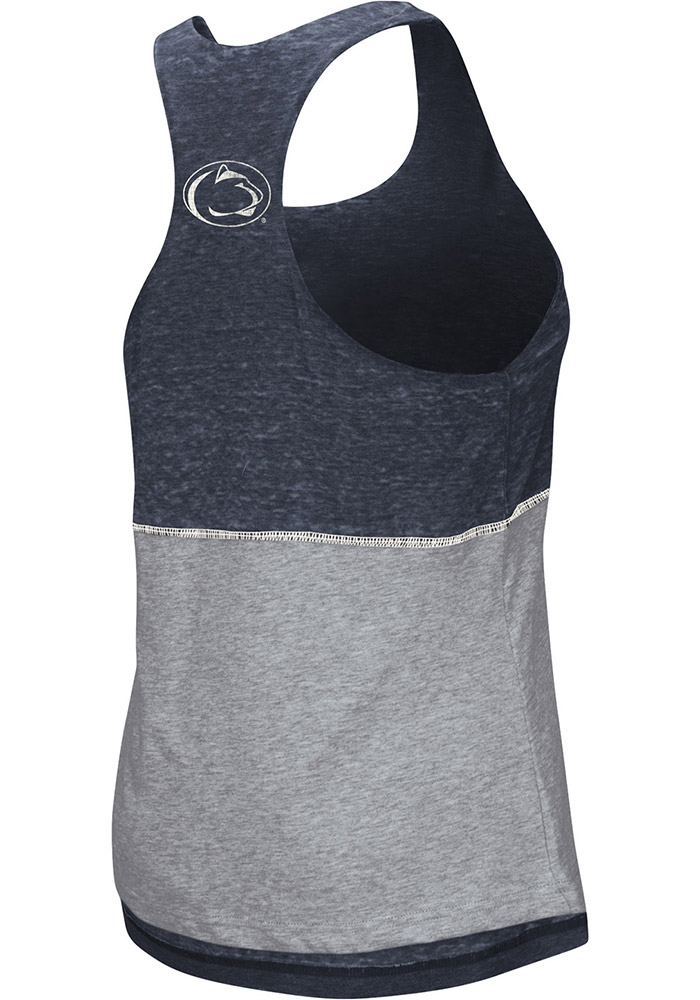 Colosseum Penn State Nittany Lions Juniors Navy Blue Ross Tank Top - Image 3