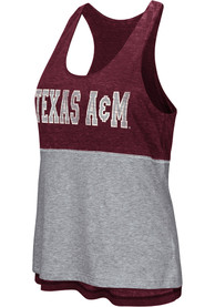 Colosseum Texas A&M Aggies Juniors Maroon Ross Tank Top
