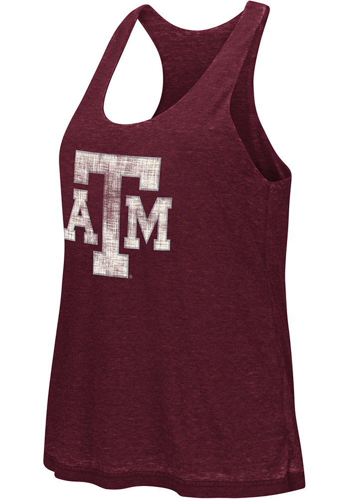 Colosseum Texas A&M Aggies Juniors Maroon Ross Tank Top - Image 2
