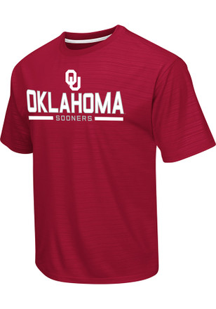 Colosseum Oklahoma Mens Red In The Vault Performance Tee