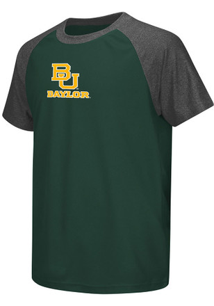 Colosseum Baylor Youth Green Get Out Performance T-Shirt