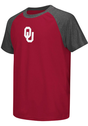 Colosseum Oklahoma Youth Red Get Out Performance T-Shirt