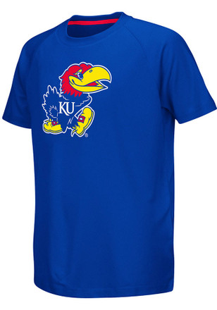 Colosseum Kansas Jayhawks Kids Blue Kramer T-Shirt