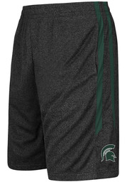 Michigan State Spartans Youth Black Sidler Shorts