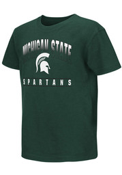 Colosseum Michigan State Spartans Youth Green Golden Boy T-Shirt