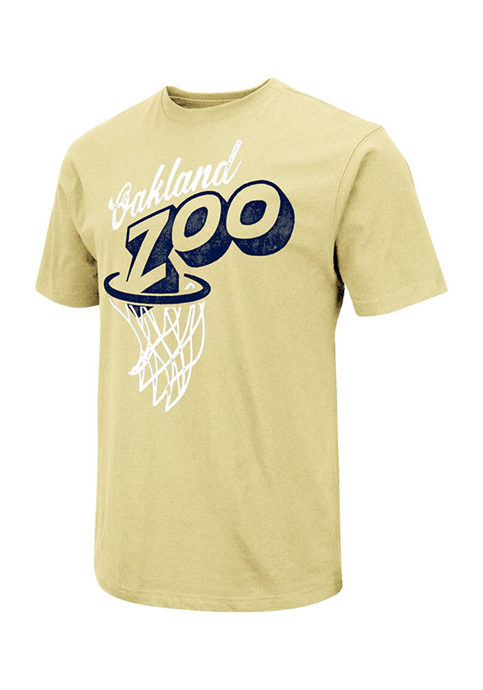 Colosseum Pitt Panthers Gold Zoo Short Sleeve T Shirt - Image 1