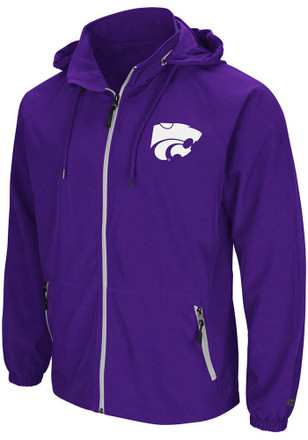 Colosseum K-State Wildcats Mens Purple Friday Light Weight Jacket