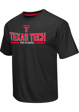 Colosseum Texas Tech Mens Black In The Vault Performance Tee
