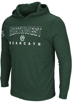 Colosseum Northwest Missouri State Bearcats Mens Chotchkie's Green Fashion Hood