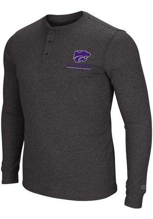 Colosseum K-State Wildcats Mens Purple Storage Fashion Tee