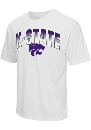 Colosseum K-State Wildcats Mens White Golden Boy Performance Tee