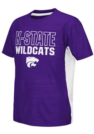 Colosseum K-State Wildcats Kids Purple In The Vault T-Shirt