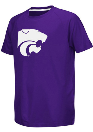 Colosseum K-State Wildcats Kids Purple Kramer T-Shirt