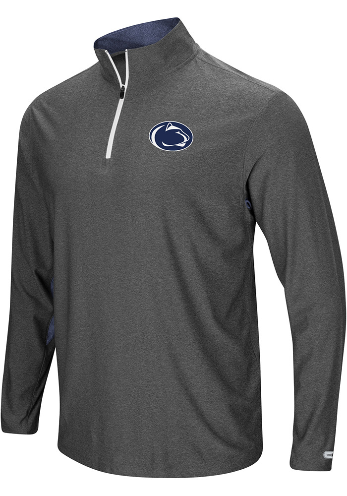 Colosseum Penn State Nittany Lions Mens Navy Blue Sweet Spot 1/4 Zip Pullover