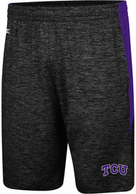 TCU Horned Frogs Colosseum Fundamentals Shorts - Black