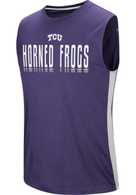 TCU Horned Frogs Colosseum Hanging Curveball Tank Top - Purple