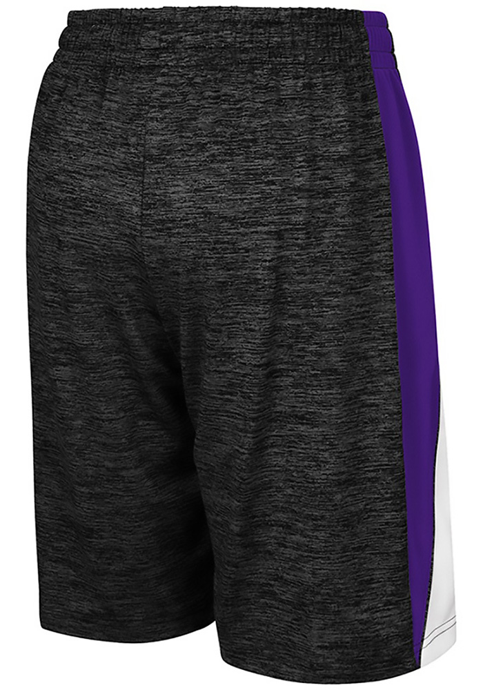 Colosseum K-State Wildcats Youth Black The Jet Shorts - Image 2