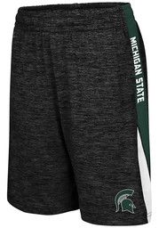 Colosseum Michigan State Spartans Youth Black The Jet Shorts