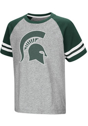 Colosseum Michigan State Spartans Youth Grey Bertram T-Shirt