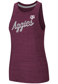 Texas A&M Aggies Womens Colosseum Kenosha Comets Tank Top - Maroon