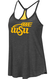 Wichita State Shockers Womens Colosseum Clearly Inside Tank Top - Black