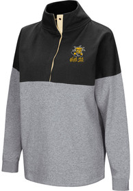 Wichita State Shockers Womens Colosseum Breakthrough 1/4 Zip Pullover - Black