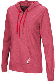 Cincinnati Bearcats Womens Colosseum Sugar 1/4 Zip - Black