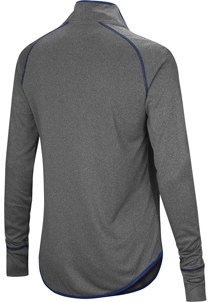 Colosseum Penn State Womens Charcoal Shark 1/4 Zip Pullover - Image 2