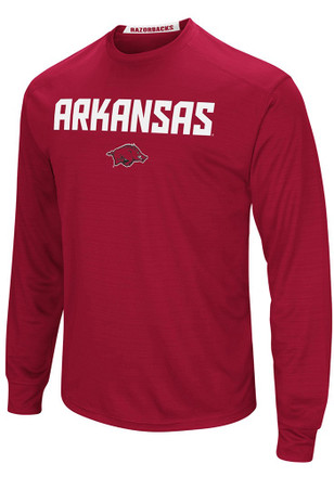 Colosseum Arkansas Razorbacks Mens Cardinal Setter Tee