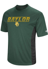 Colosseum Baylor Bears Green Beamer Tee
