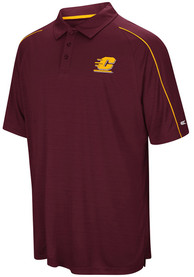 Central Michigan Chippewas Colosseum Setter Polo Shirt - Maroon