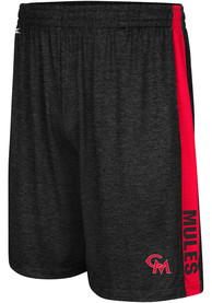 Central Missouri Mules Colosseum Wicket Shorts - Black