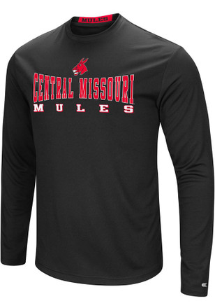 Colosseum Central Missouri Mules Mens Red Streamer Tee