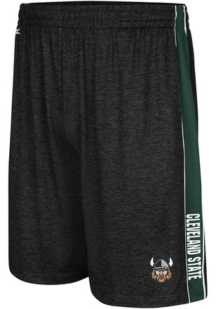 Colosseum Cleveland State Vikings Mens Black Wicket Shorts