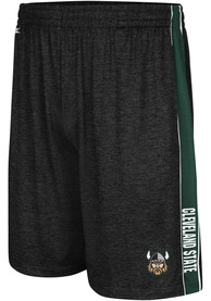 Cleveland State Vikings Colosseum Wicket Shorts - Black