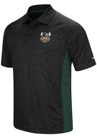 Cleveland State Vikings Colosseum Wedge Polo Shirt - Black