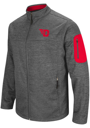 Colosseum Dayton Flyers Mens Grey Anchor Heavyweight Jacket