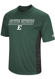 Colosseum Eastern Michigan Eagles Green Beamer Tee