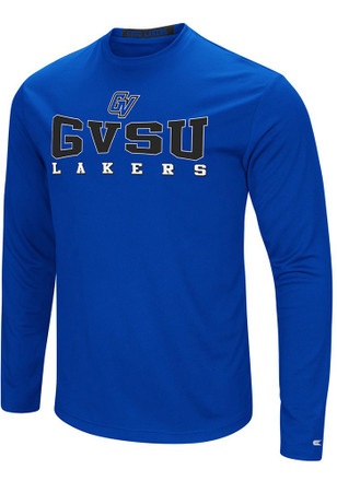 Colosseum Grand Valley State Lakers Mens Blue Streamer Tee