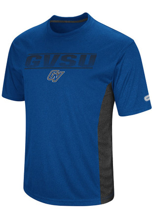 Colosseum Grand Valley State Lakers Mens Blue Beamer Tee